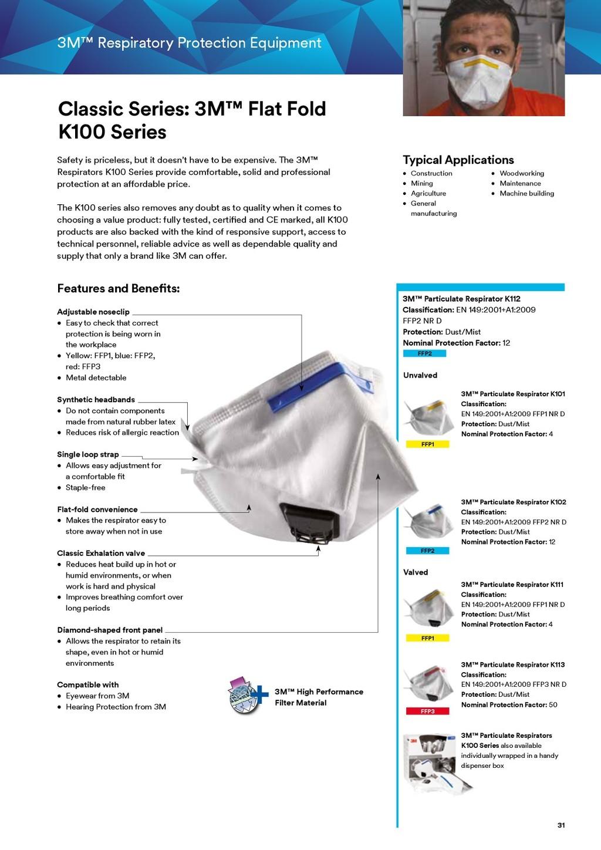3m k102 mask