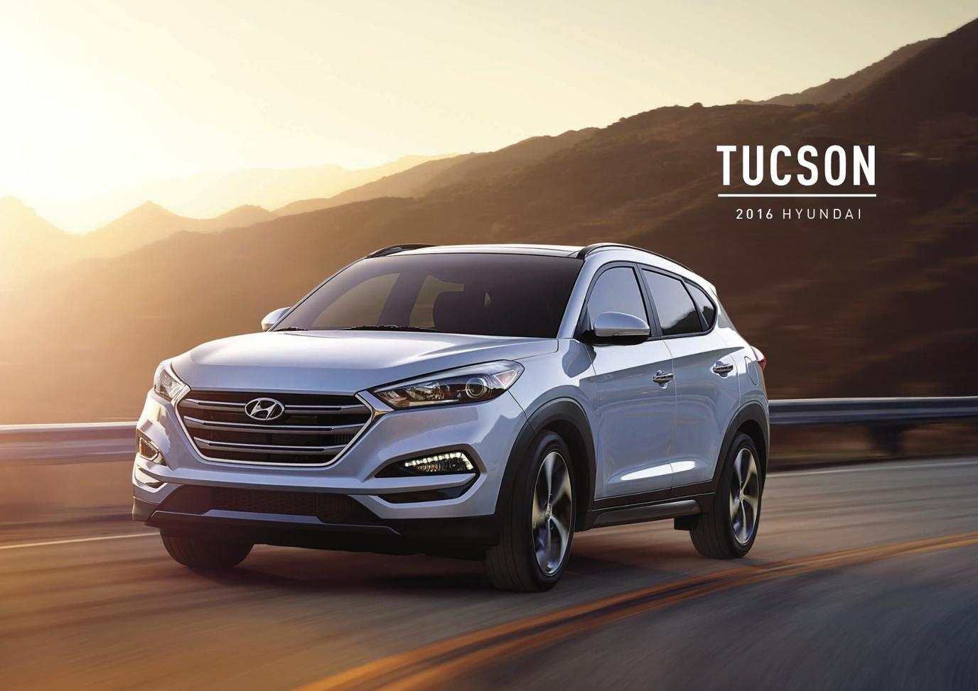 2016 Hyundai Tucson Brochure