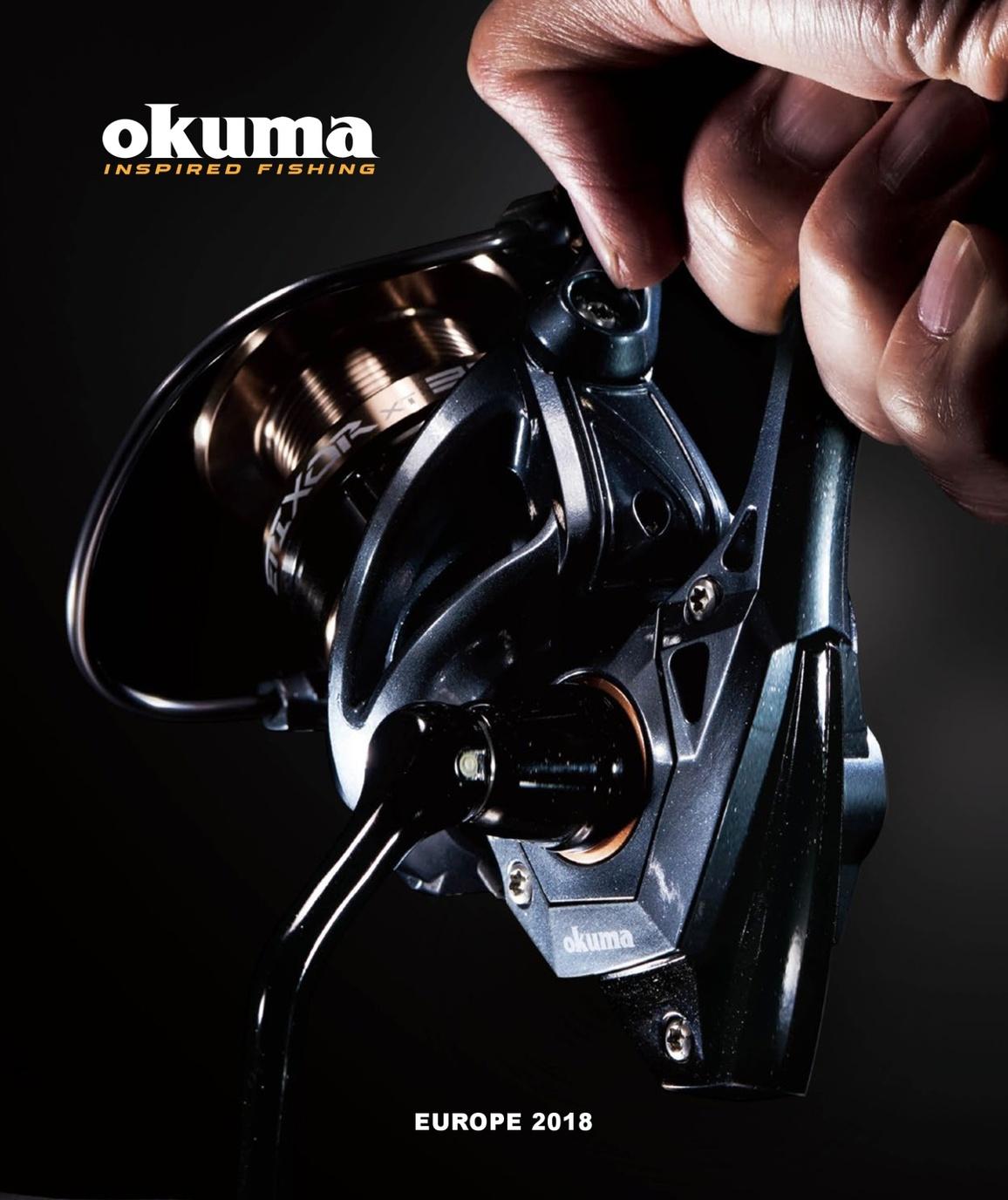 305a2f40af39f Okuma Fishing Tackle Europe 2018 Consumer Catalogue