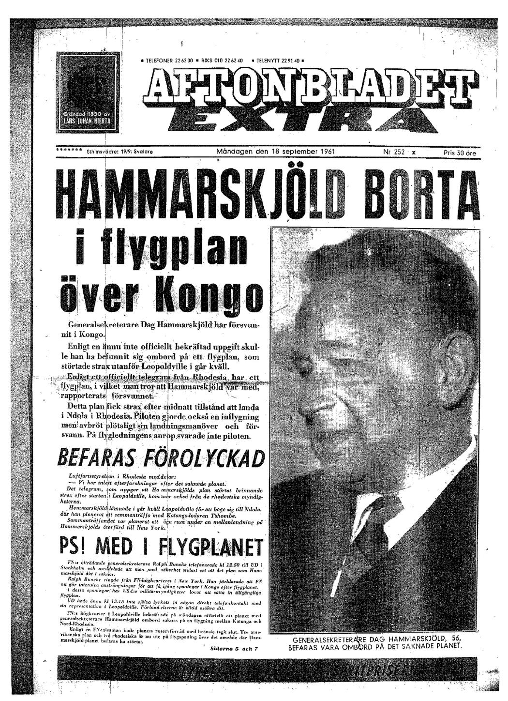 Aftonbladet Dag Hammarskjld