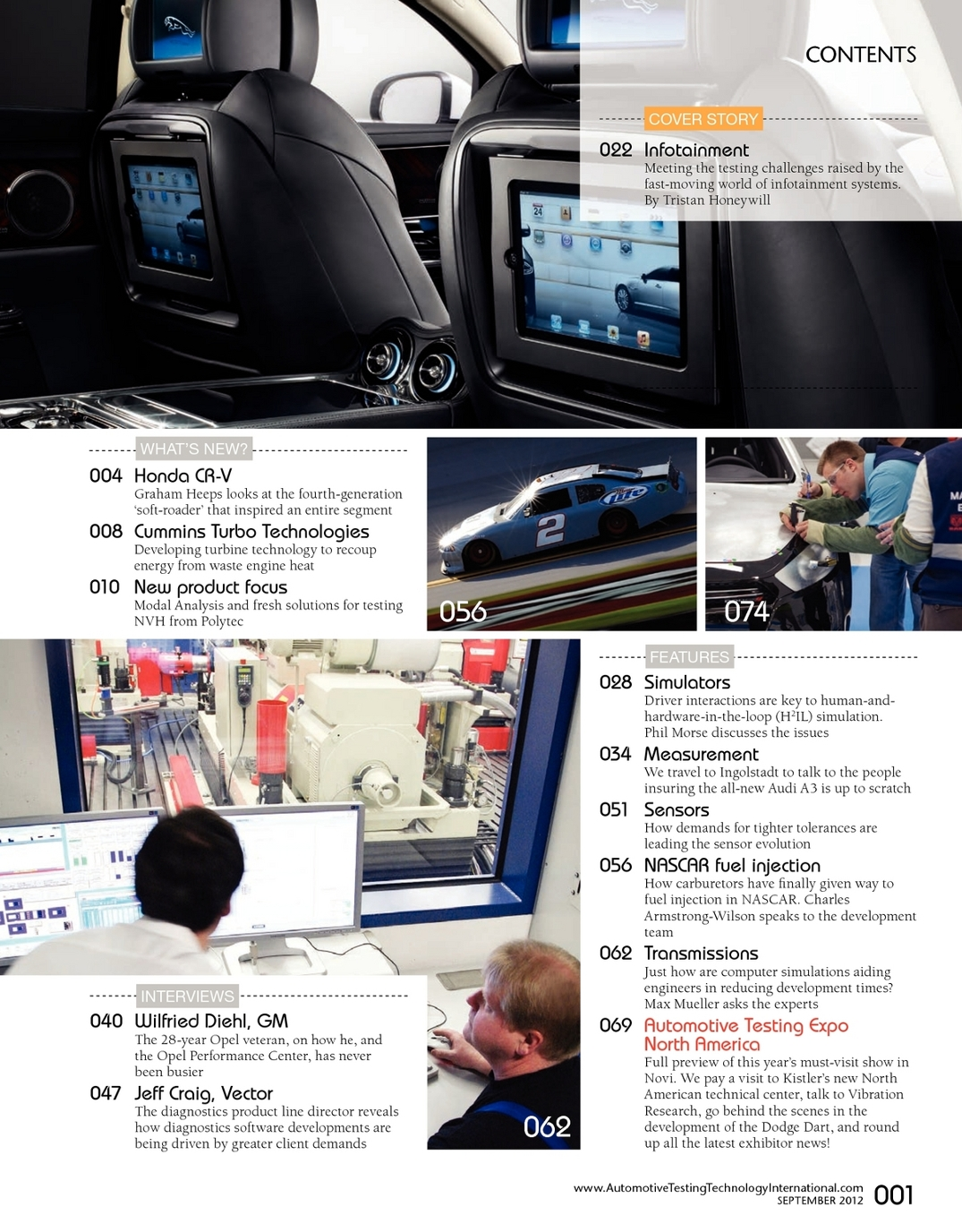 September 2012 Automotive Testing Technology International - UKi