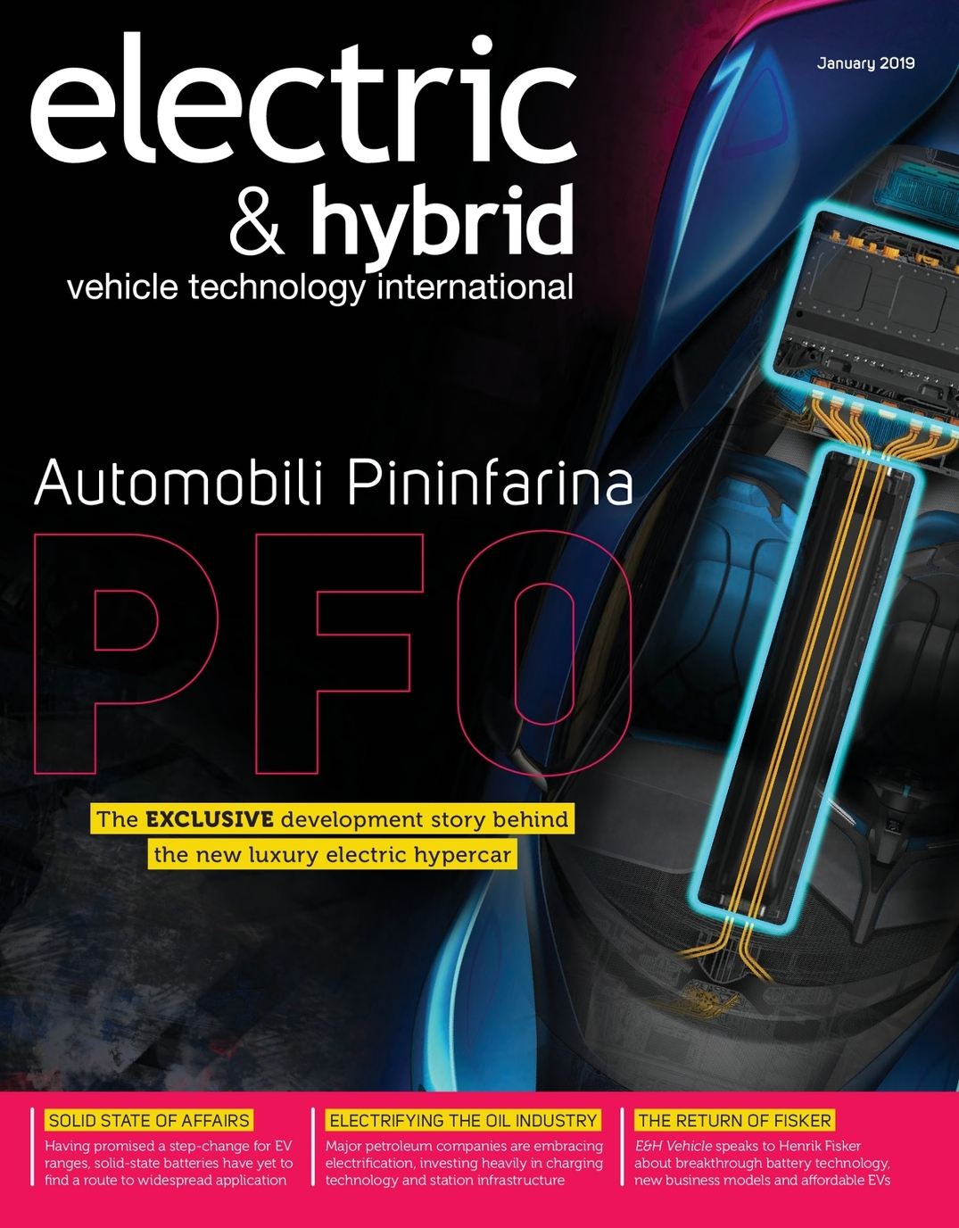 Electric & Hybrid Vehicle Technology International - January 2019