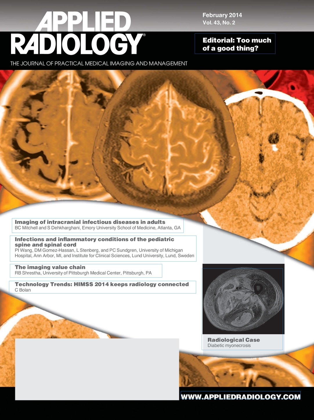 February 2014 Applied Radiology