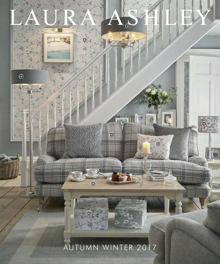 Be Inspired Laura Ashley - Laura ashley grey living room