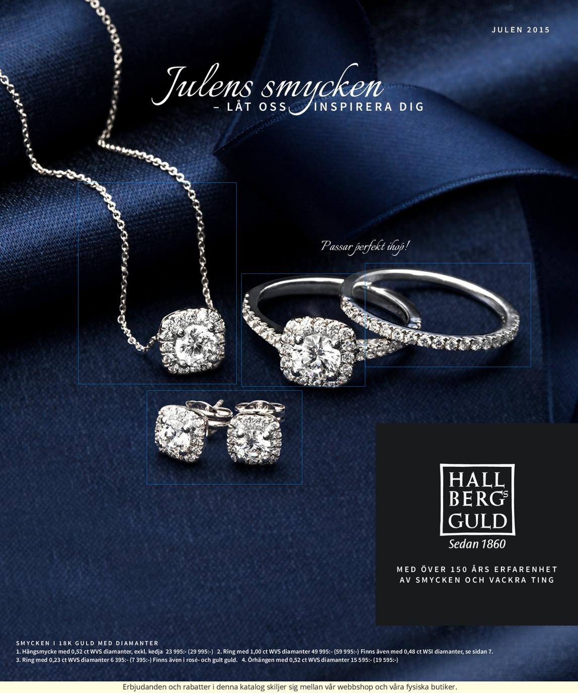 Hallbergs Guld Julkatalog 2015 0537f64f40ce8