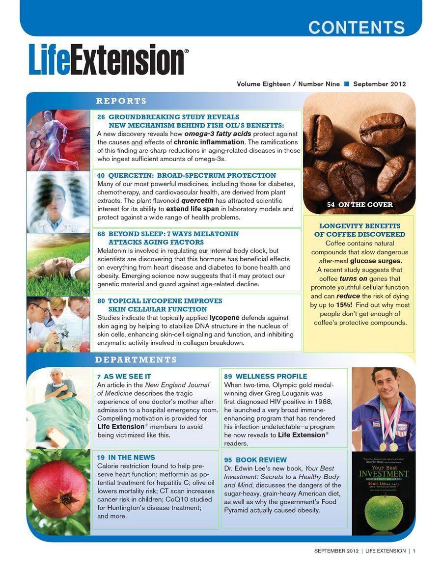 Life Extension Magazine September 2012