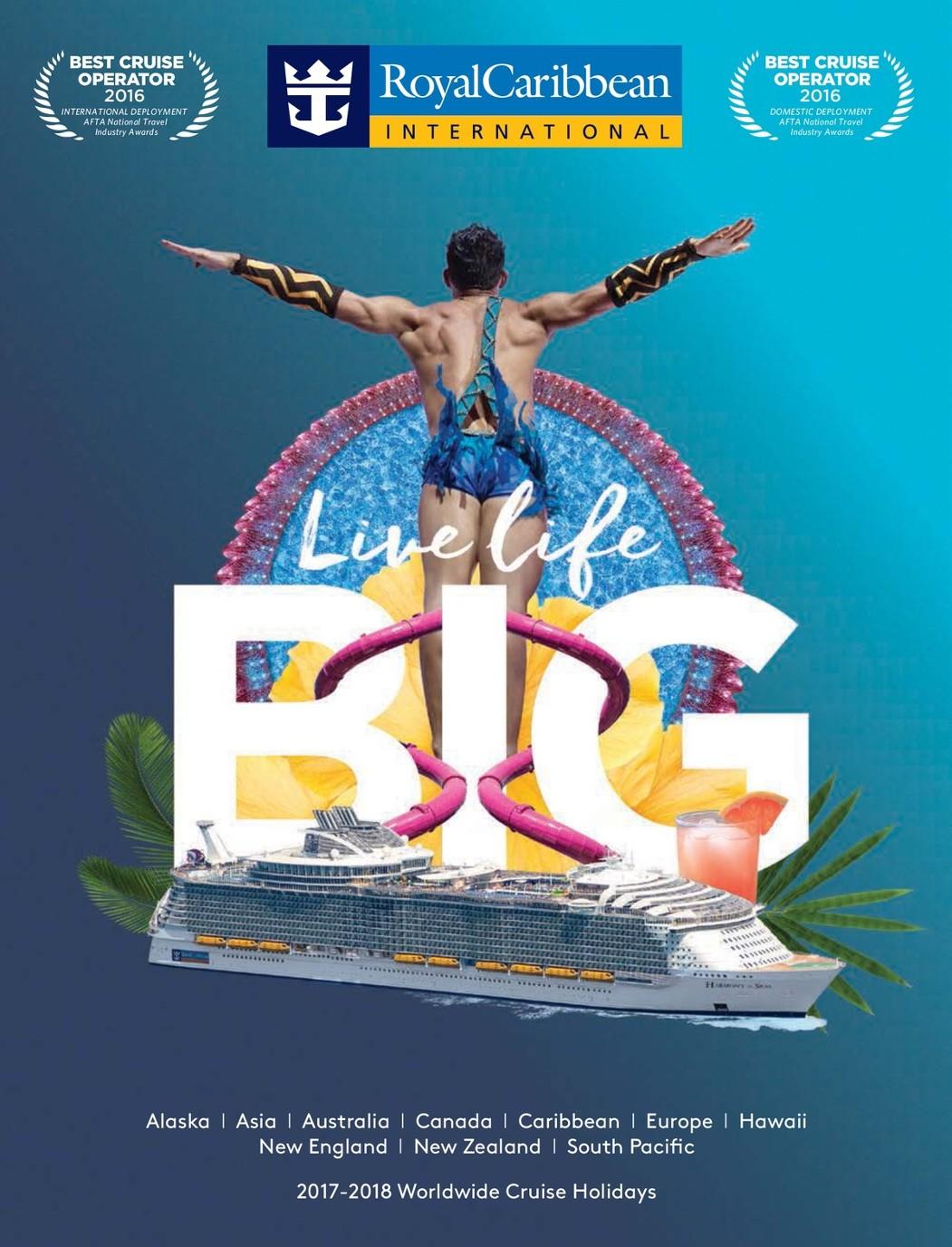 Royal Caribbean Australia Planner 2017-18