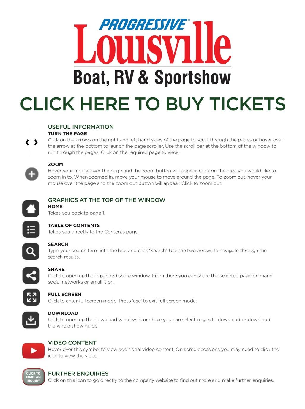 Progressive Insurance Louisville Boat, RV & Sportshow 2018