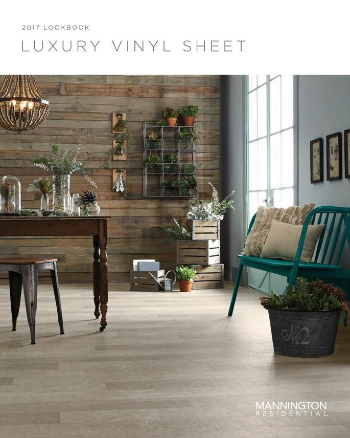 luxury vinyl flooring in tile and plank styles - mannington vinyl