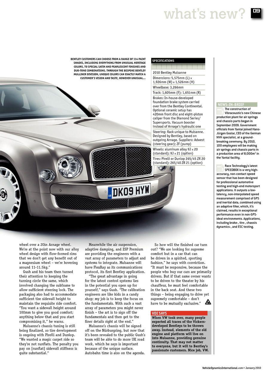 January 2010 Vehicle Dynamics International - UKi Publication Viewer