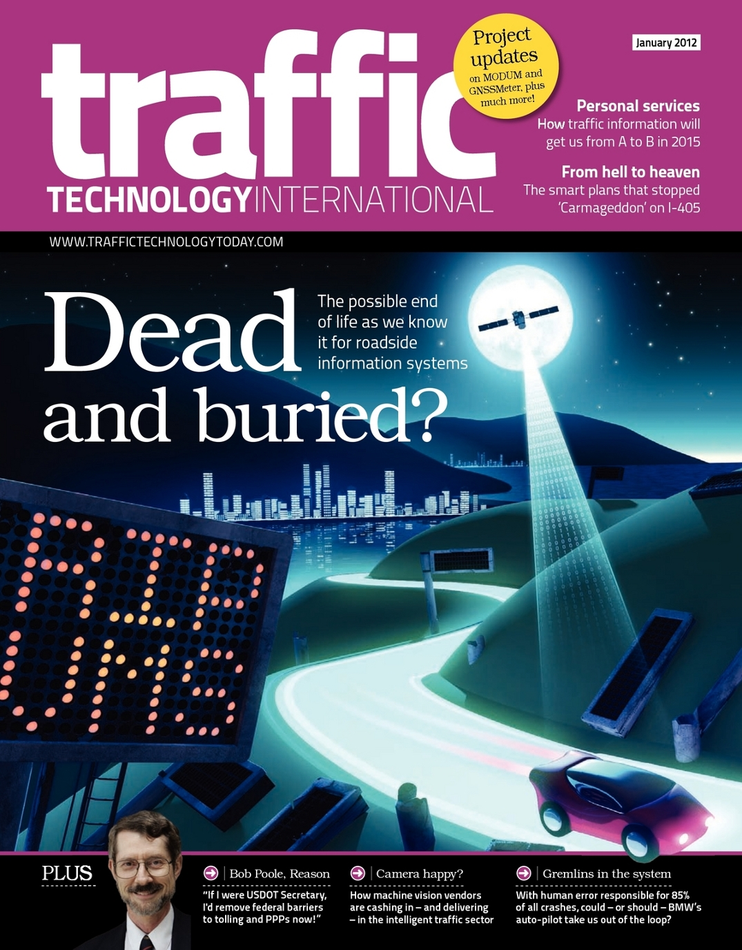 Traffic Technology International - January 2012