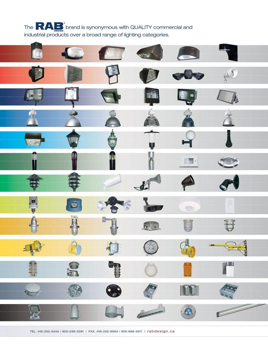 Rab Design Lighting Catalogue