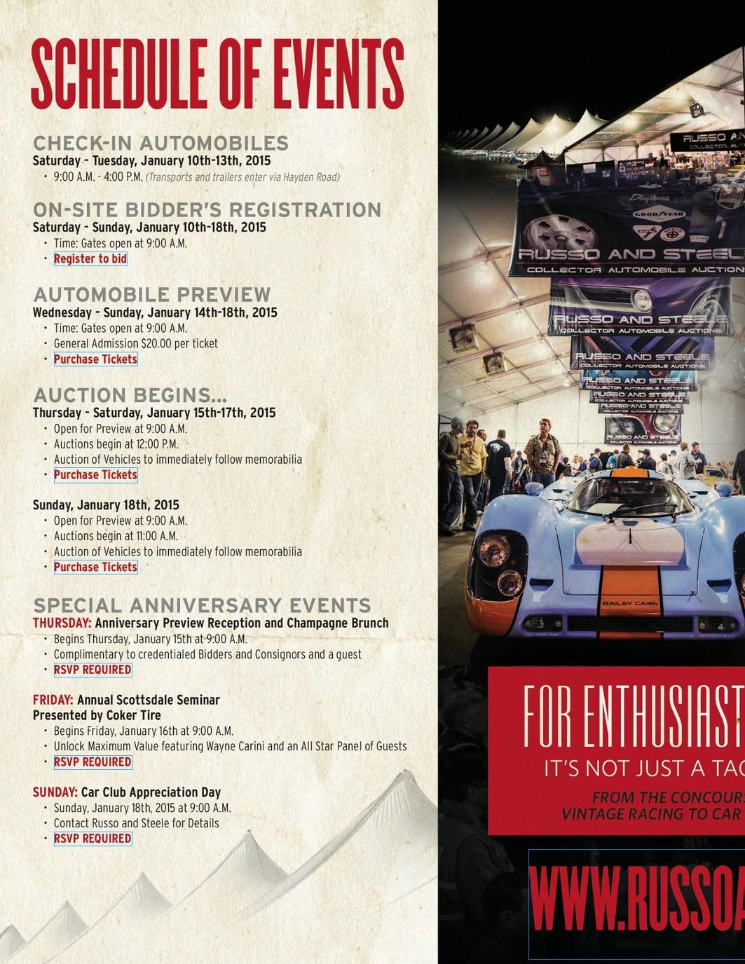 Scottsdale 2015 Auction Catalog