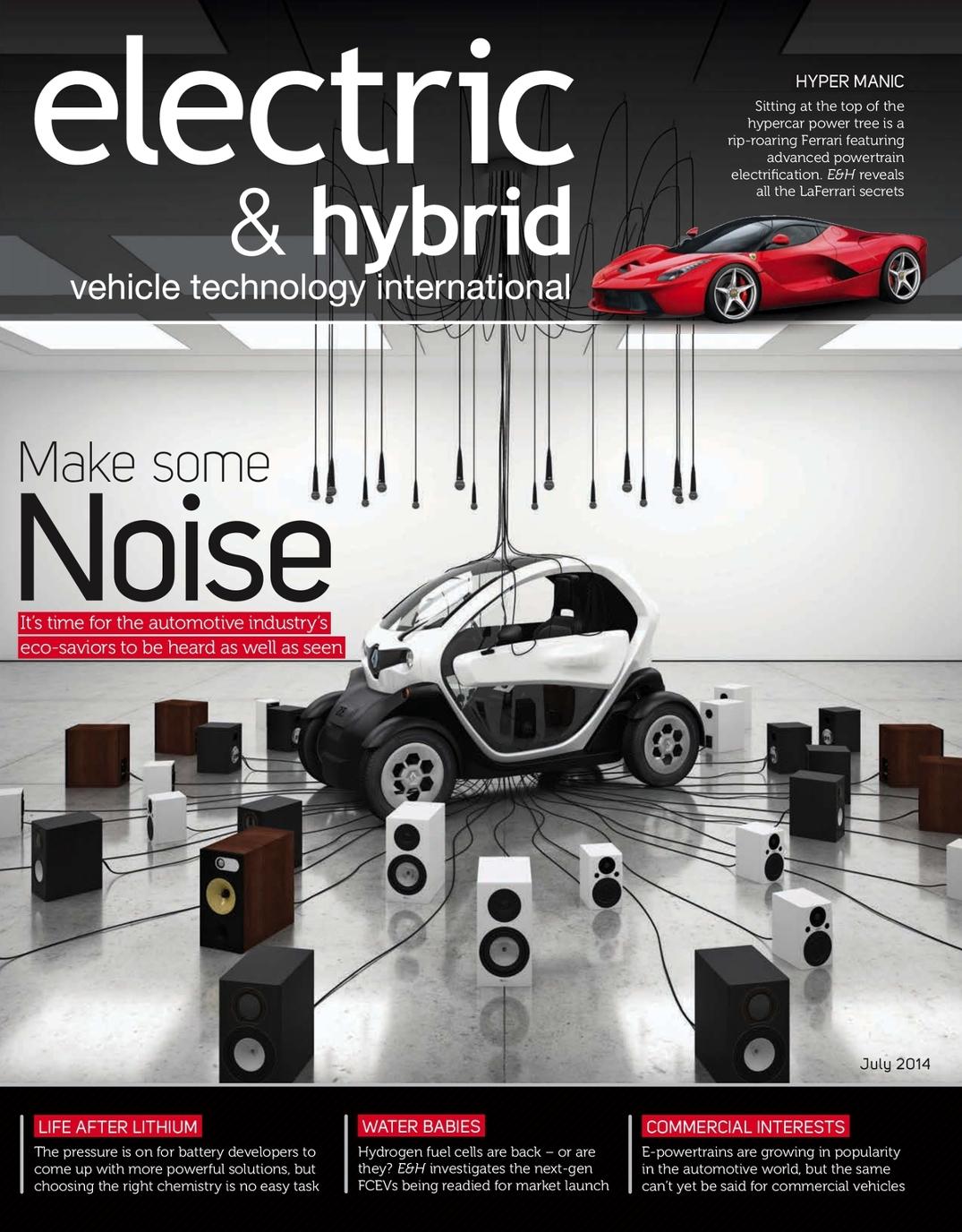 Electric U0026 Hybrid Vehicle Technology International   July 2014