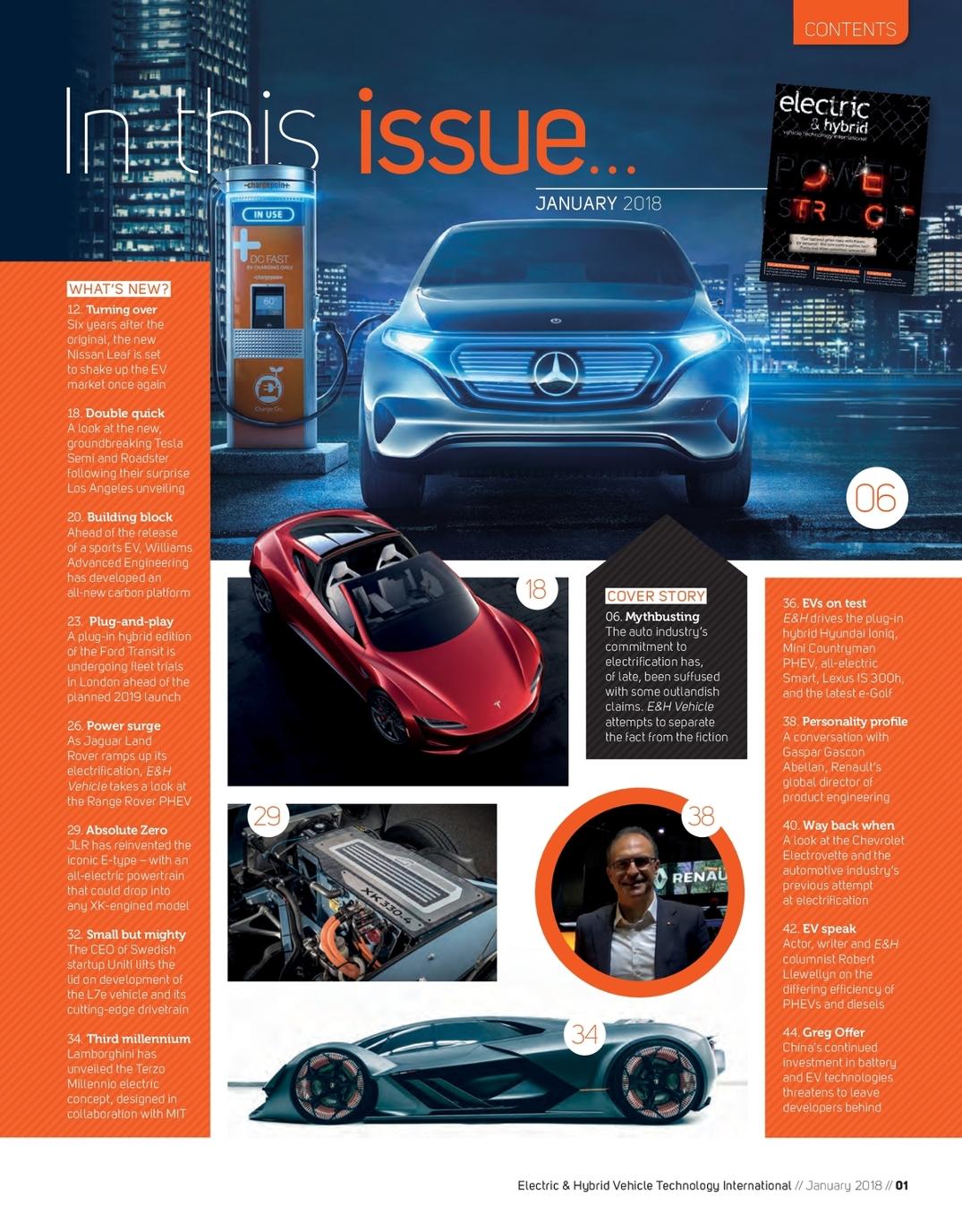Electric & Hybrid Vehicle Technology International - January