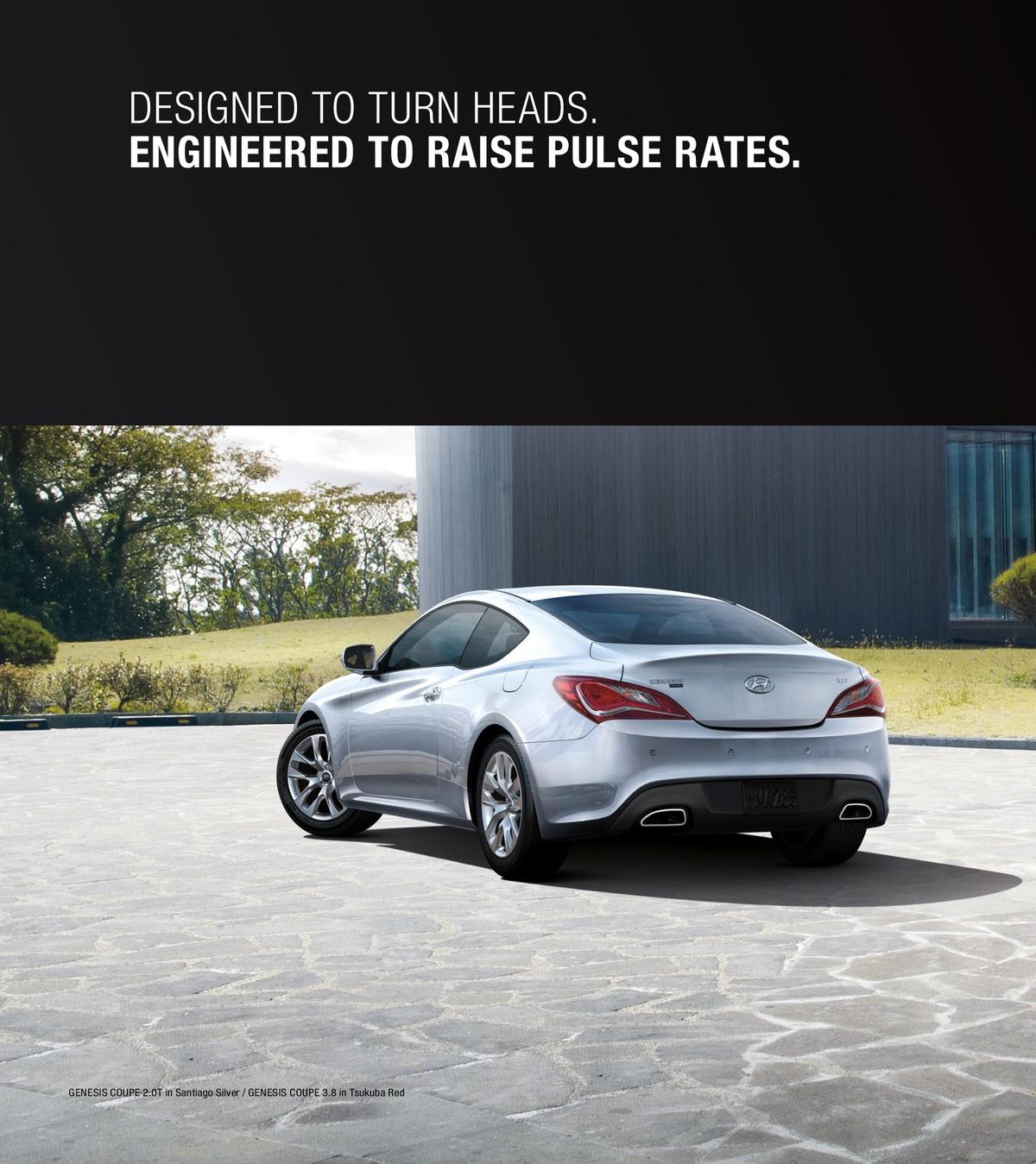 2014 Hyundai Genesis Coupe Brochure