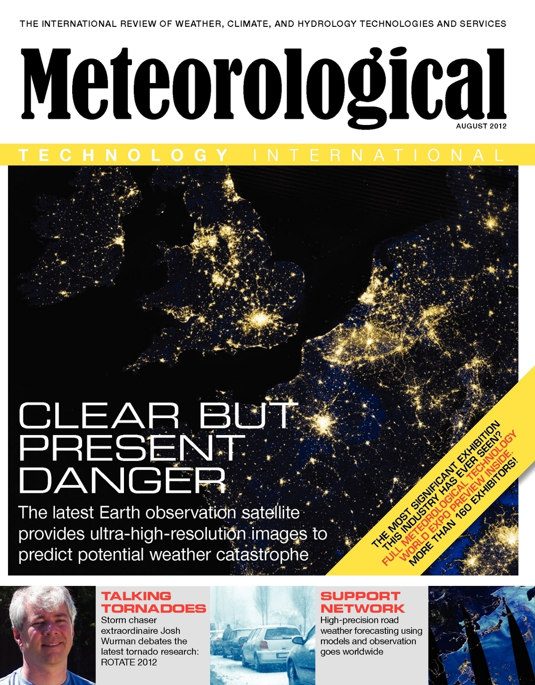 Meteorological Technology International - August 2012