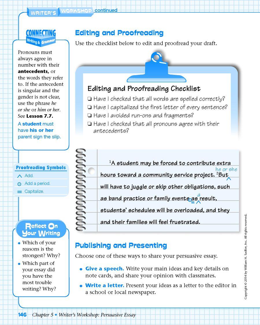 Writing a persuasive essay grade 8 pdf