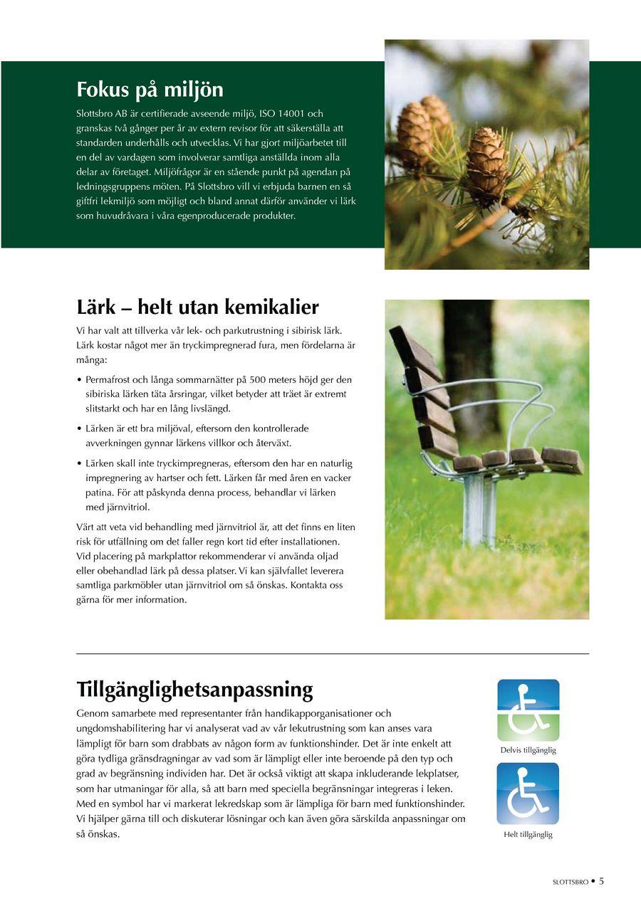 Slottsbro - Park   Lekutrustning katalog 2011 1ee58034b2bab