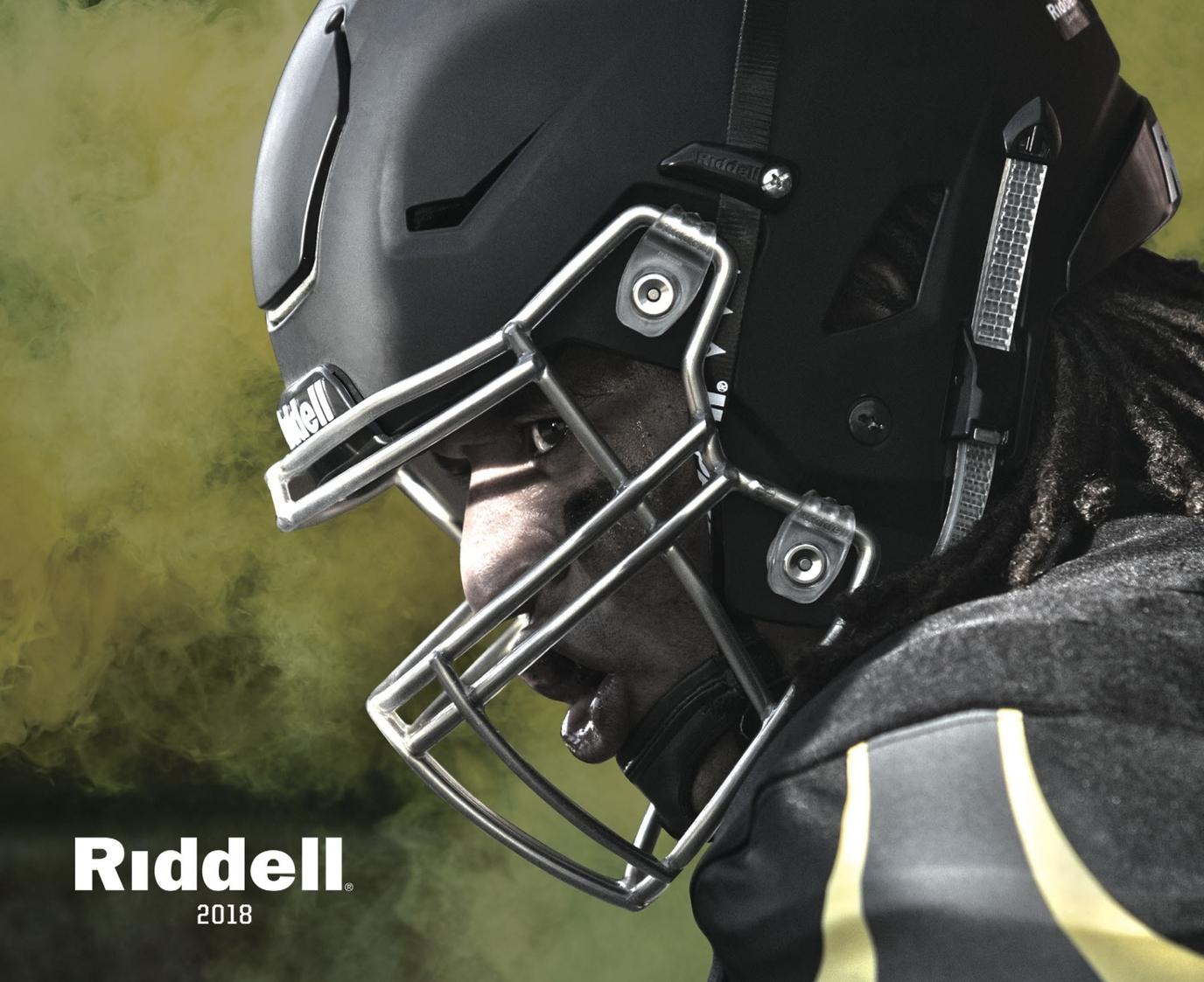 the best attitude bce97 fcfb6 2018 Riddell Football / Multi-Sport Catalog