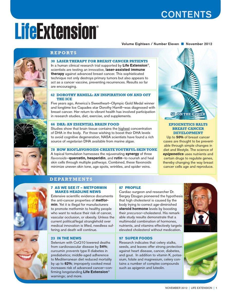 Life Extension Magazine November 2012