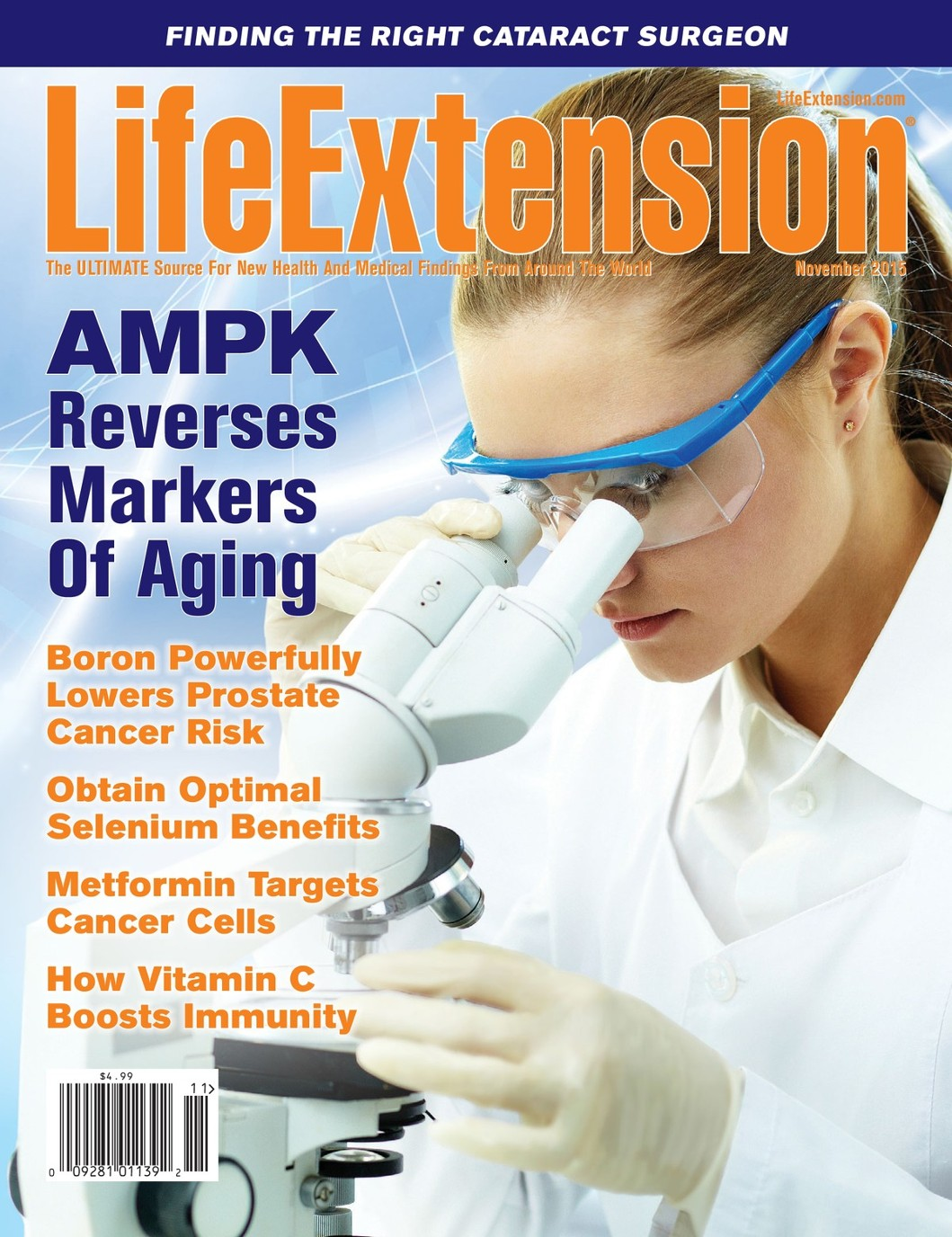 Life Extension Magazine November 2015