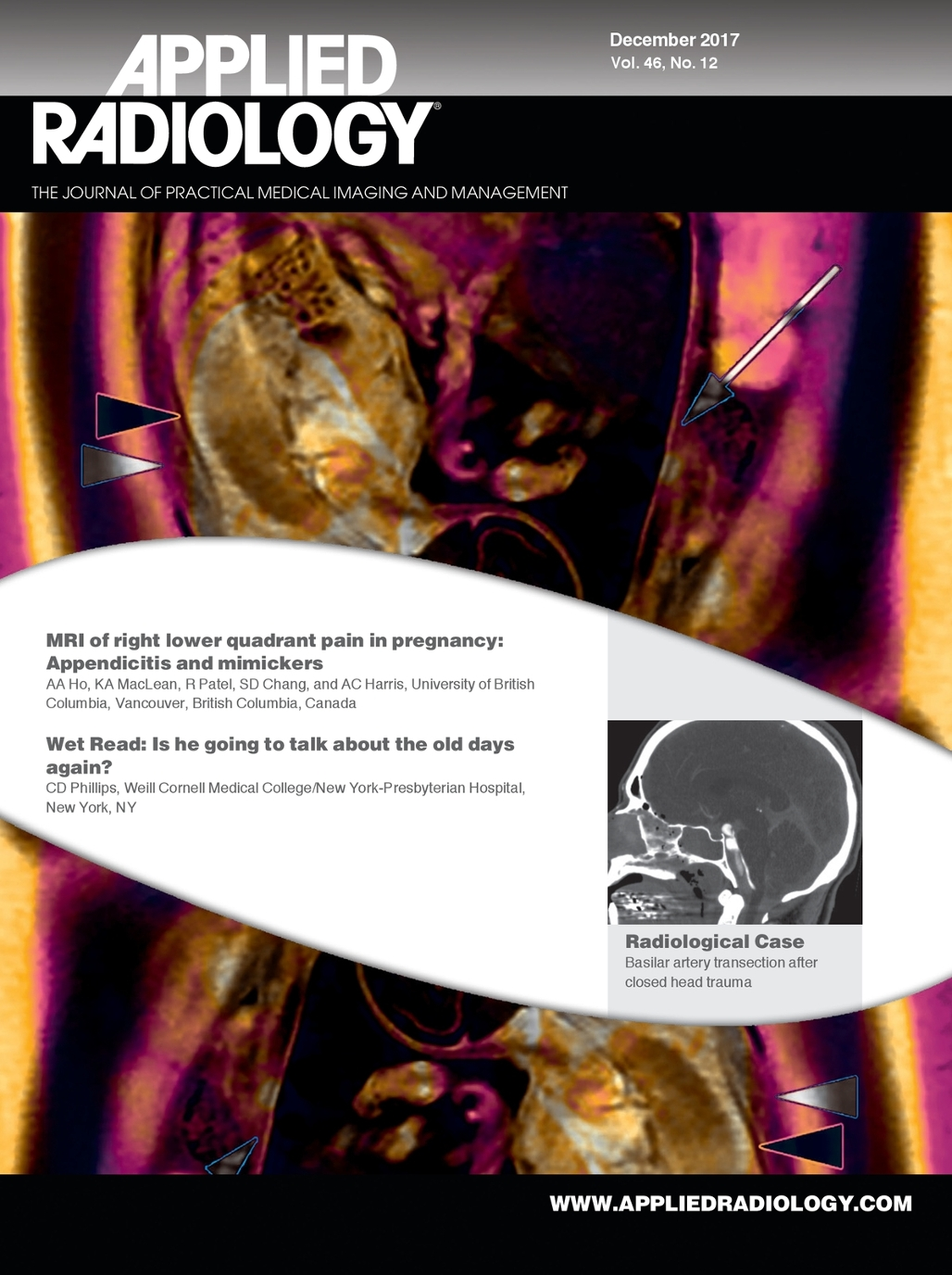 December 2017 Applied Radiology