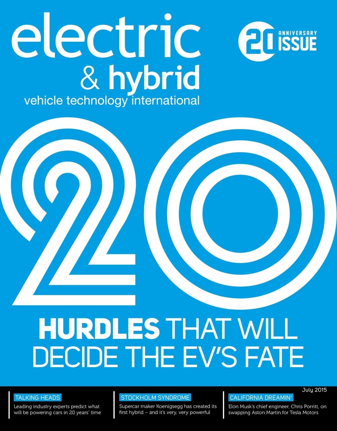 Electric & Hybrid Vehicle Technology International - July 2015