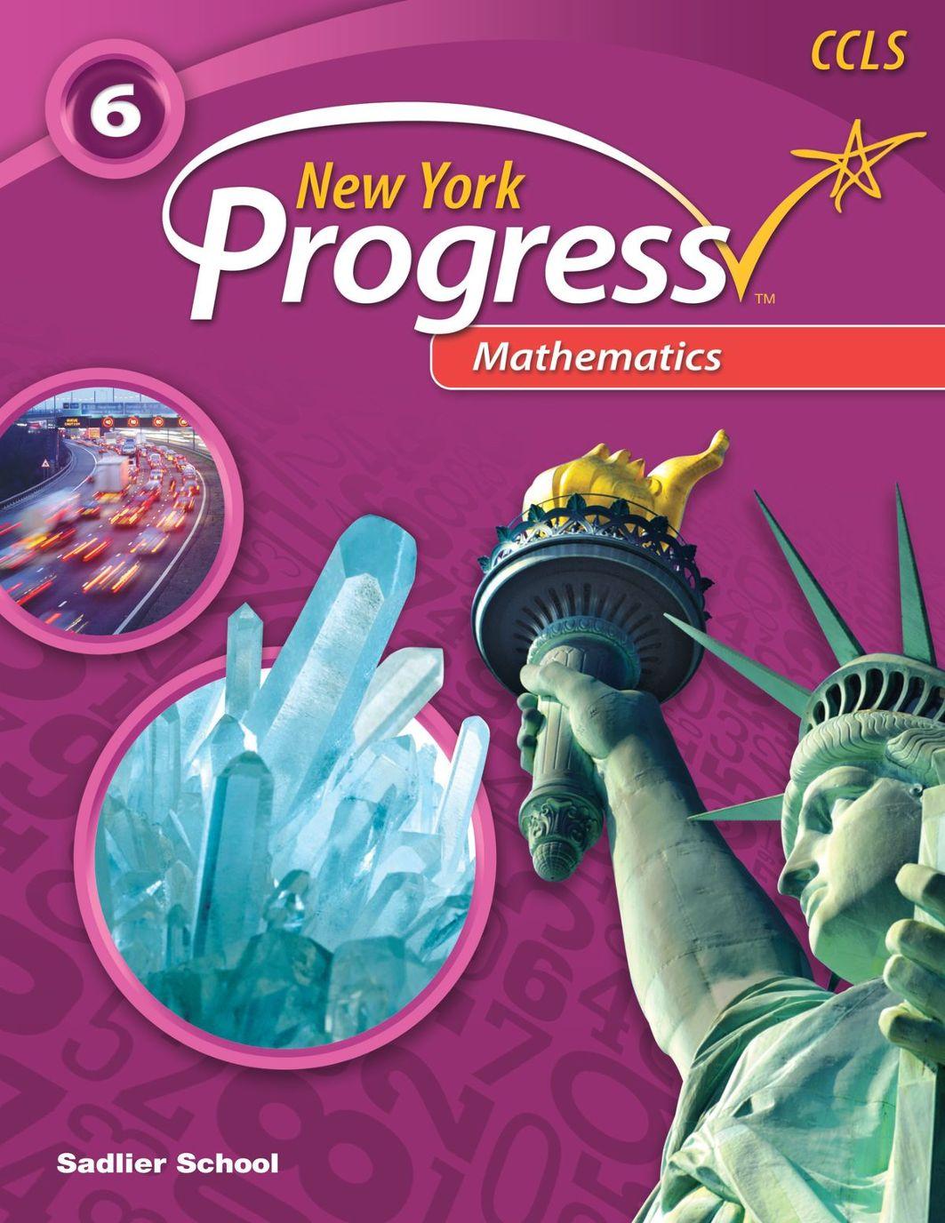 New York Progress-Mathematics-Gr 6 Student Edition Sampler