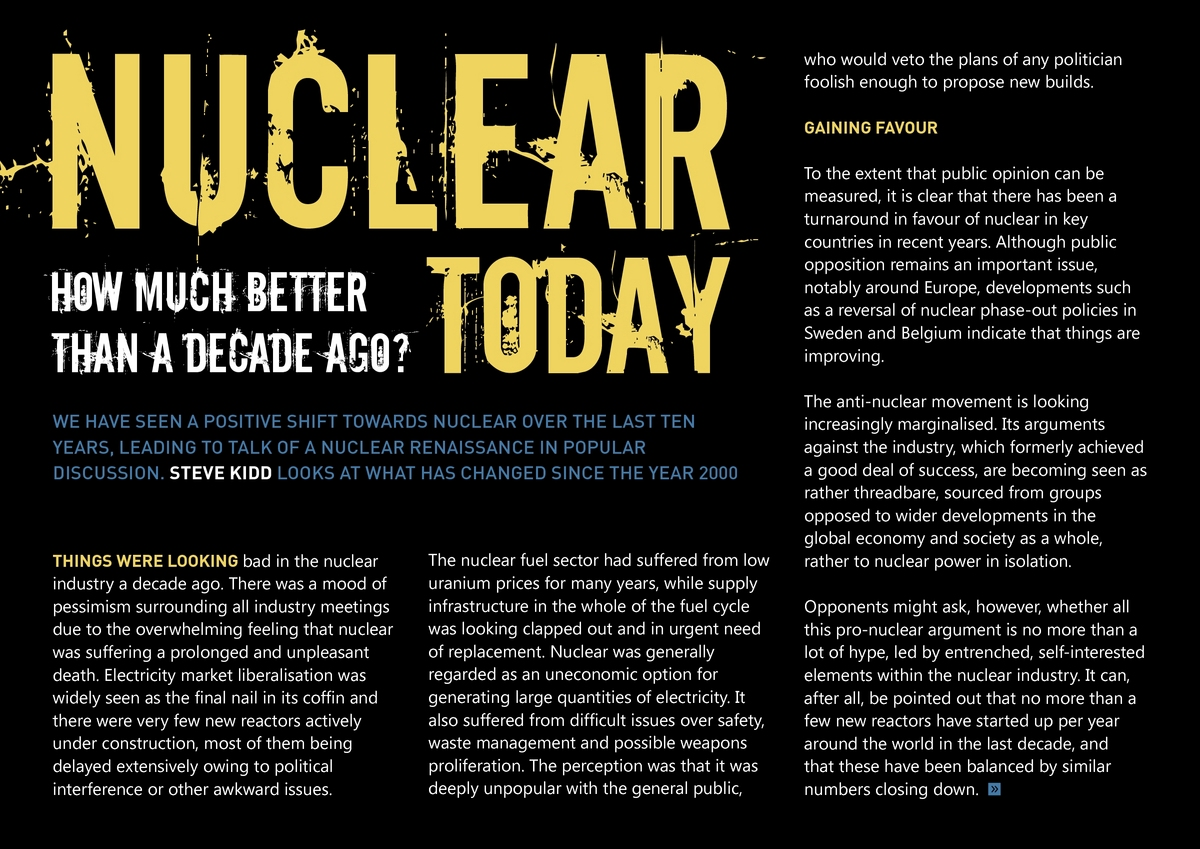 Nuclear Edition | power-technology com Online Magazine