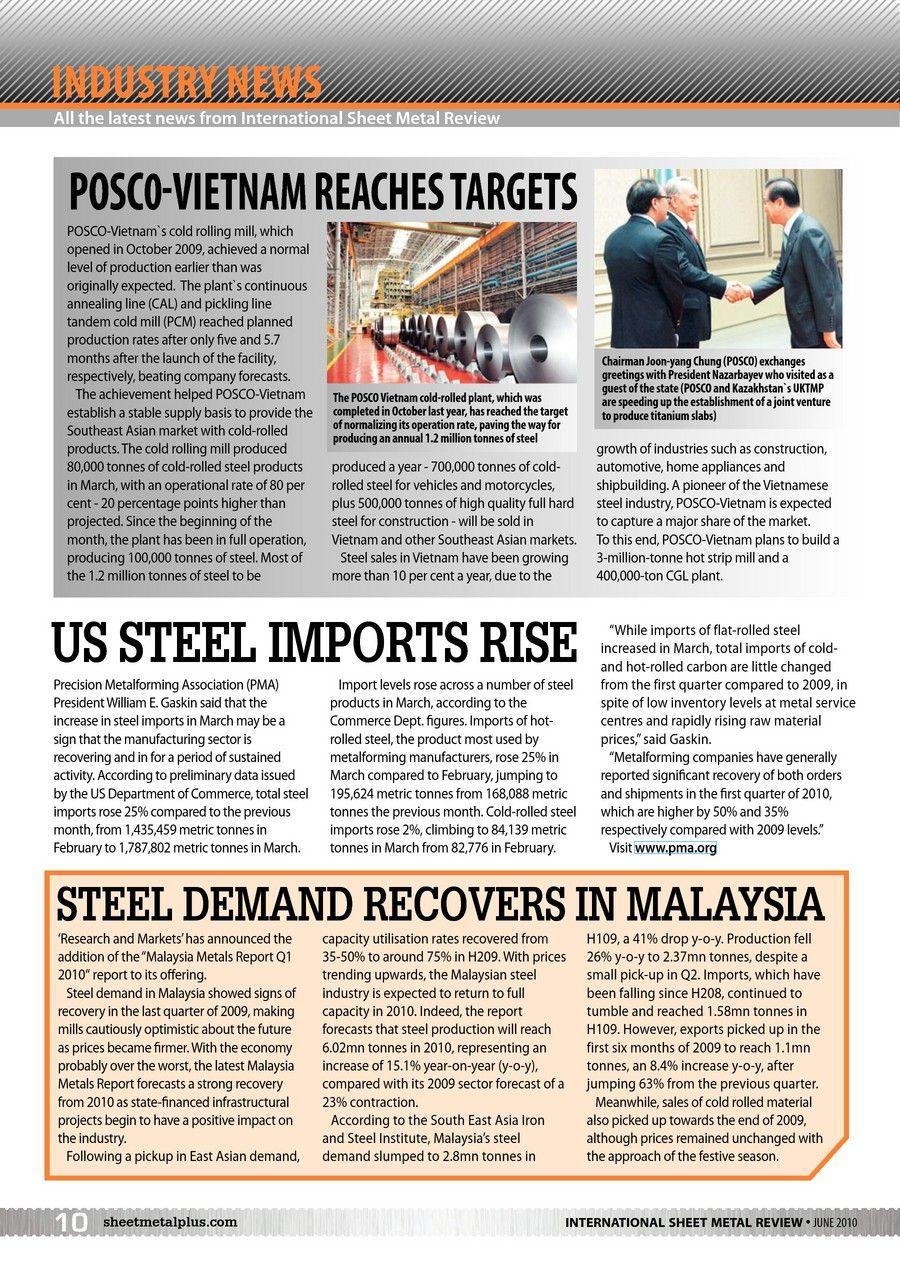 International Sheet Metal Review June 2010