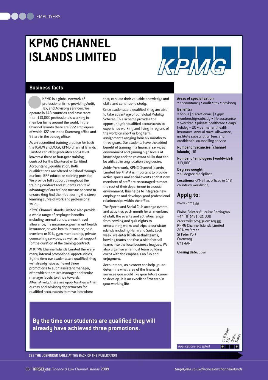 TARGETjobs Finance & Law Channel Islands