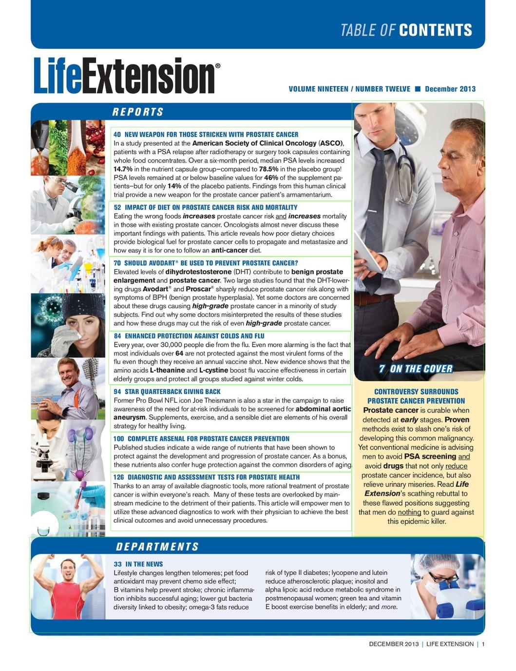 Life Extension Magazine December 2013