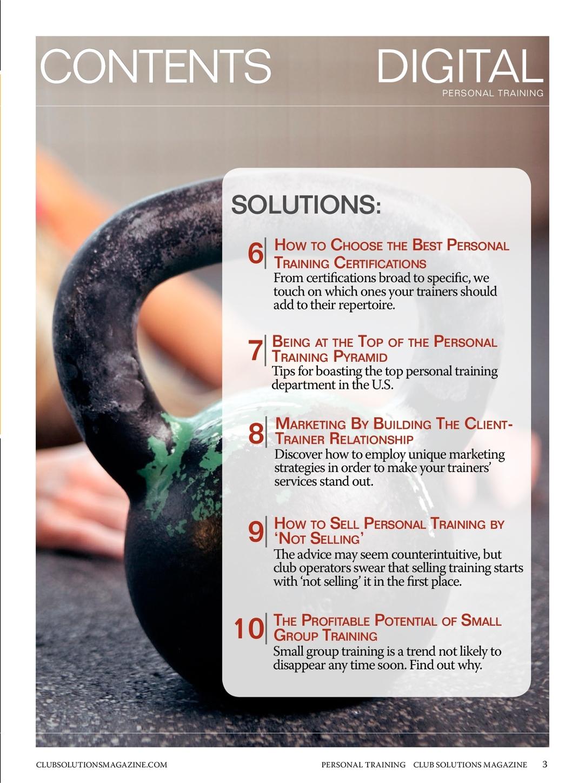 Cs Personal Training Digital Supplement
