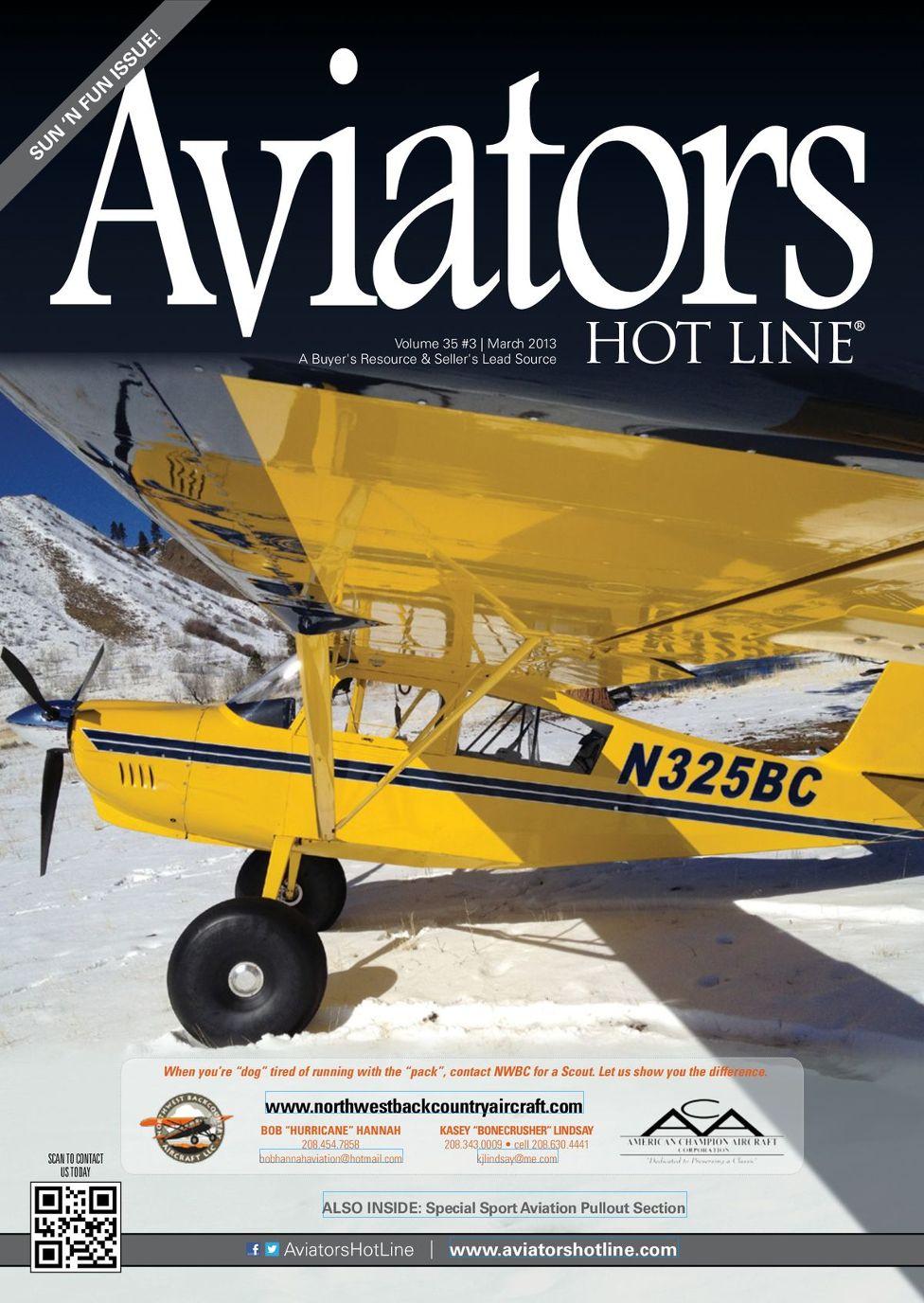 Aviators Hot Line - March 2013