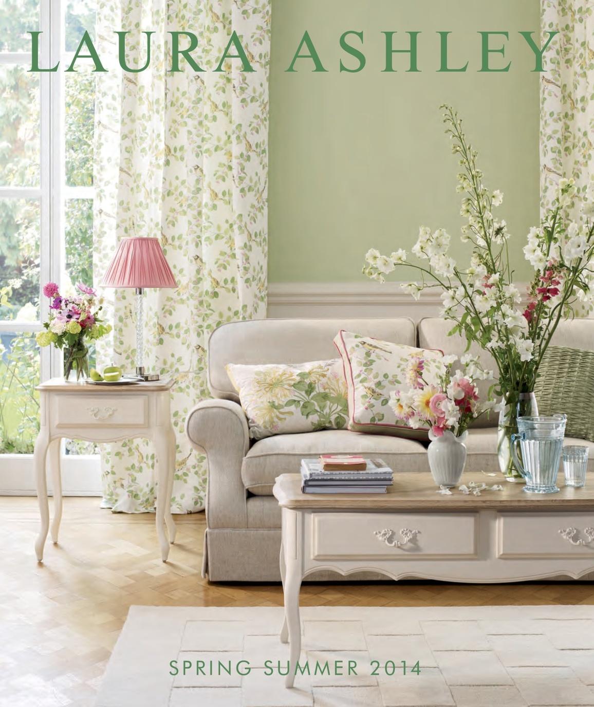 Laura Ashley Spring Summer 2014 Catalogue