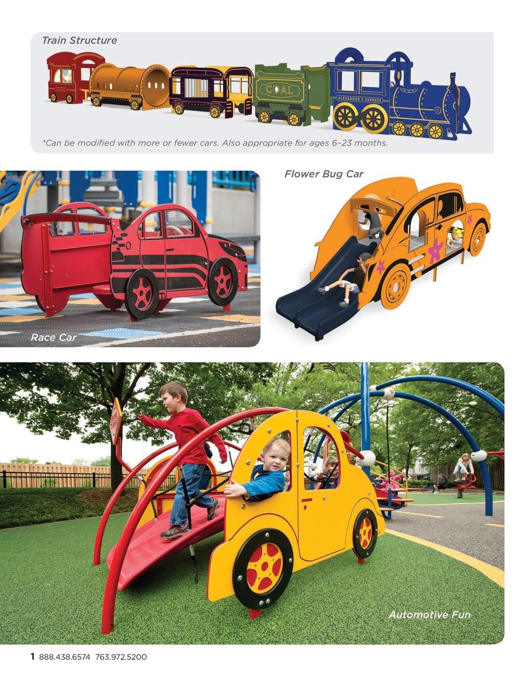 Early Childhood Playground Design Ideas