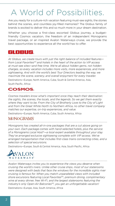 2016 Worldwide Travel Planner