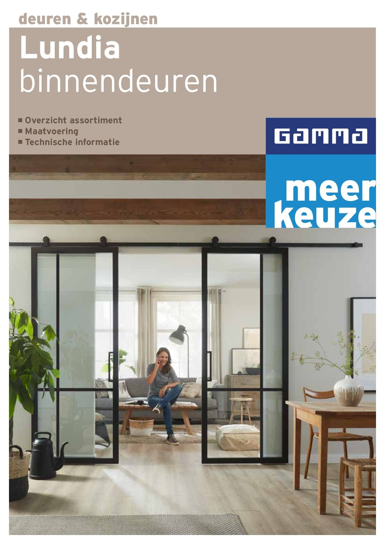 Gamma Elegance Schuifdeuren.Lundia Gamma Binnendeuren Brochure Mei 2019