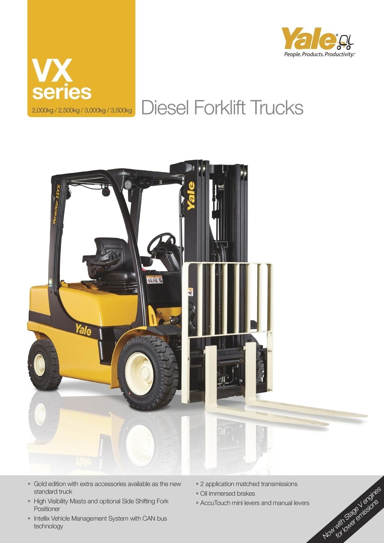 gp135 155vx pneumatic tire rider Array - vx20 35 series diesel forklift  trucks rh viewer zmags com