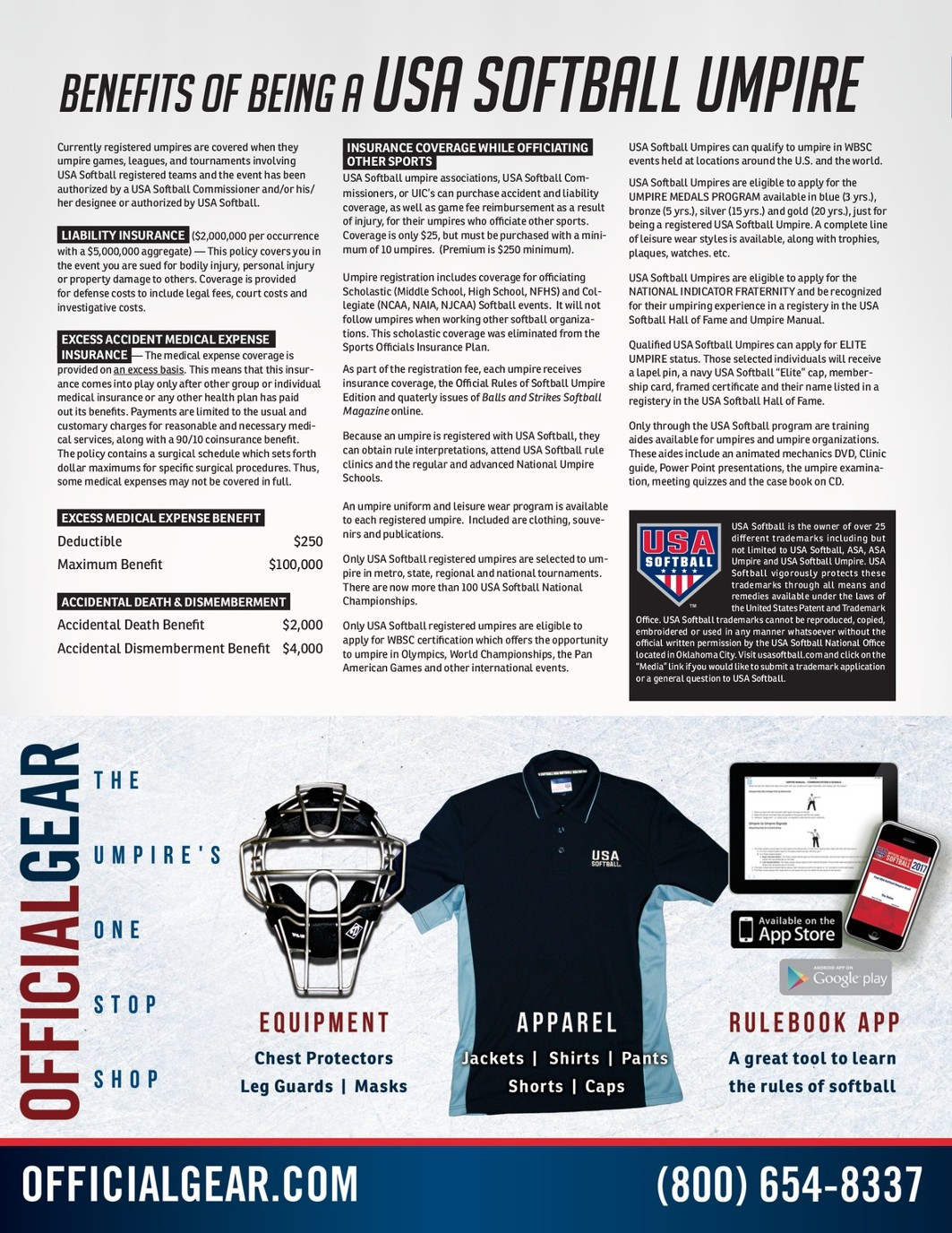 ASA Umpire Catalog 2017 HR v0