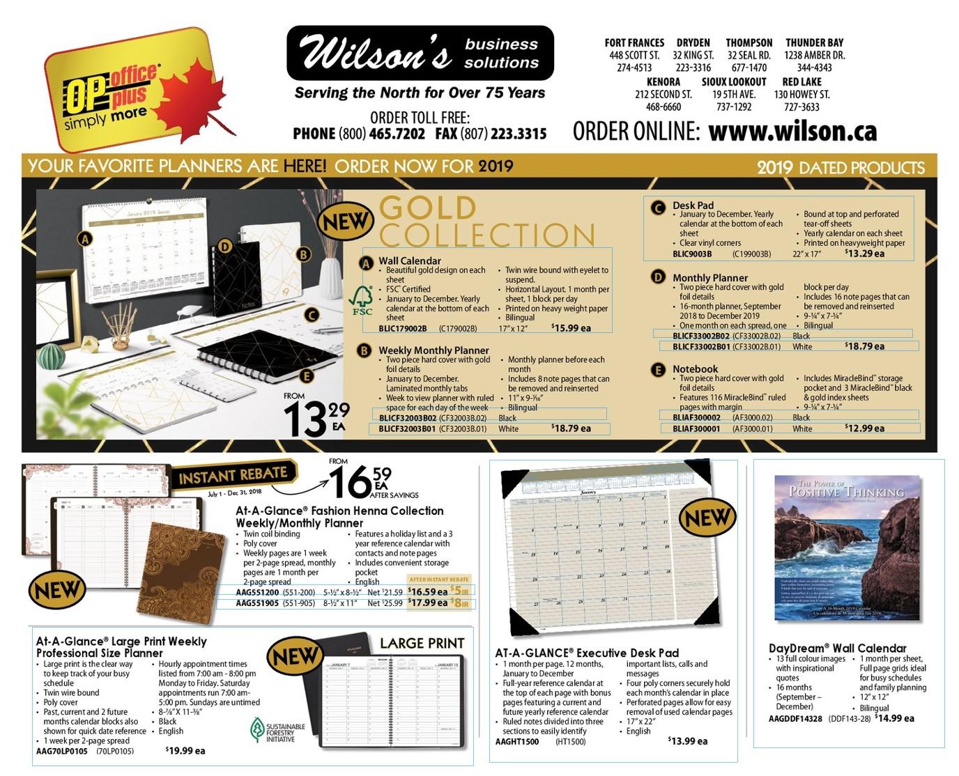 Catalogue & Flyers