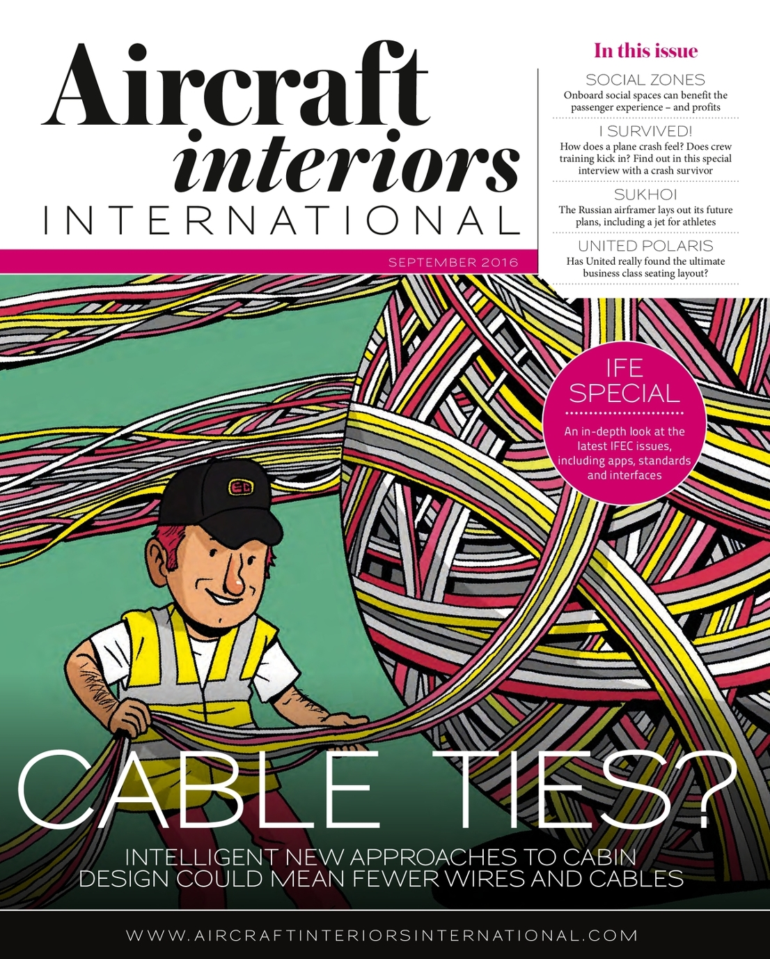 September 2016 Aircraft Interiors International Uki Publication Viewer Cable Wiring Zones Page 1