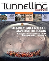 Tunnelling Journal Oct/Nov 2013 thumb