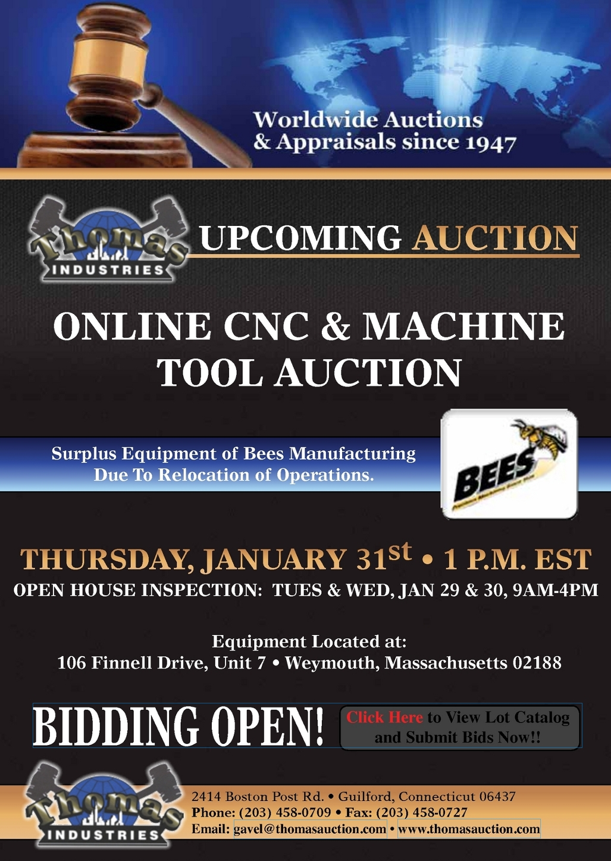 Thomas Industries - January 31st