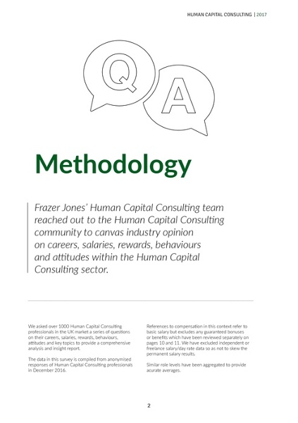 Frazer Jones' 2017 Human Capital Consulting Salary And Insights Report