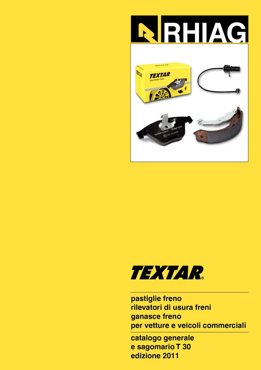 Kit pastiglie TEXTAR 2148701 BMW LAND ROVER