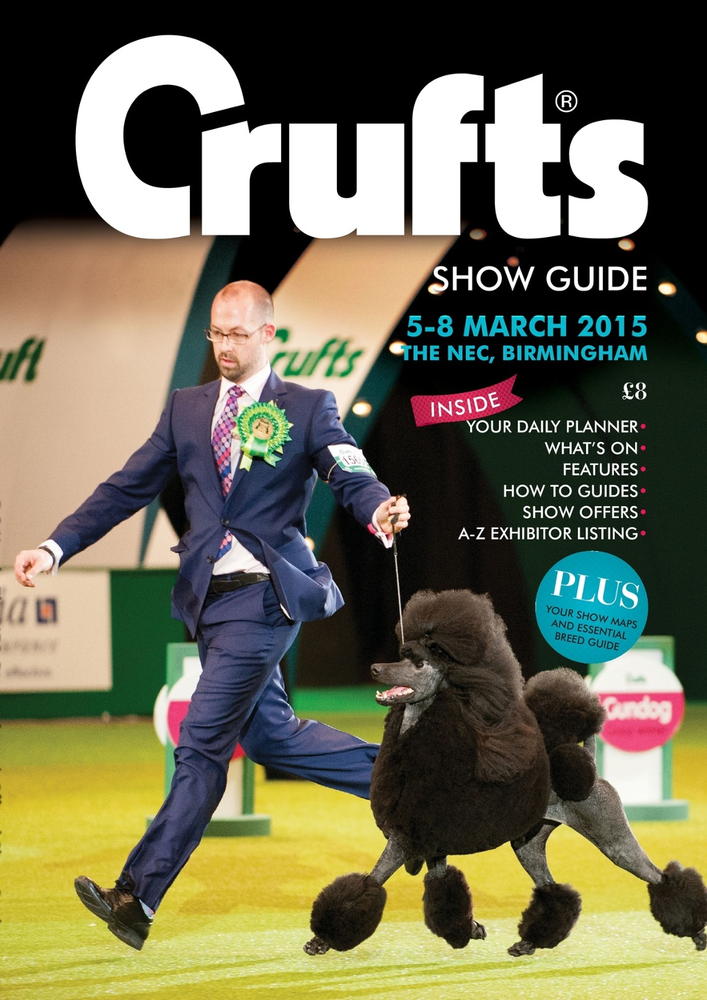 Trade Stands Crufts 2015 : Crufts official show guide