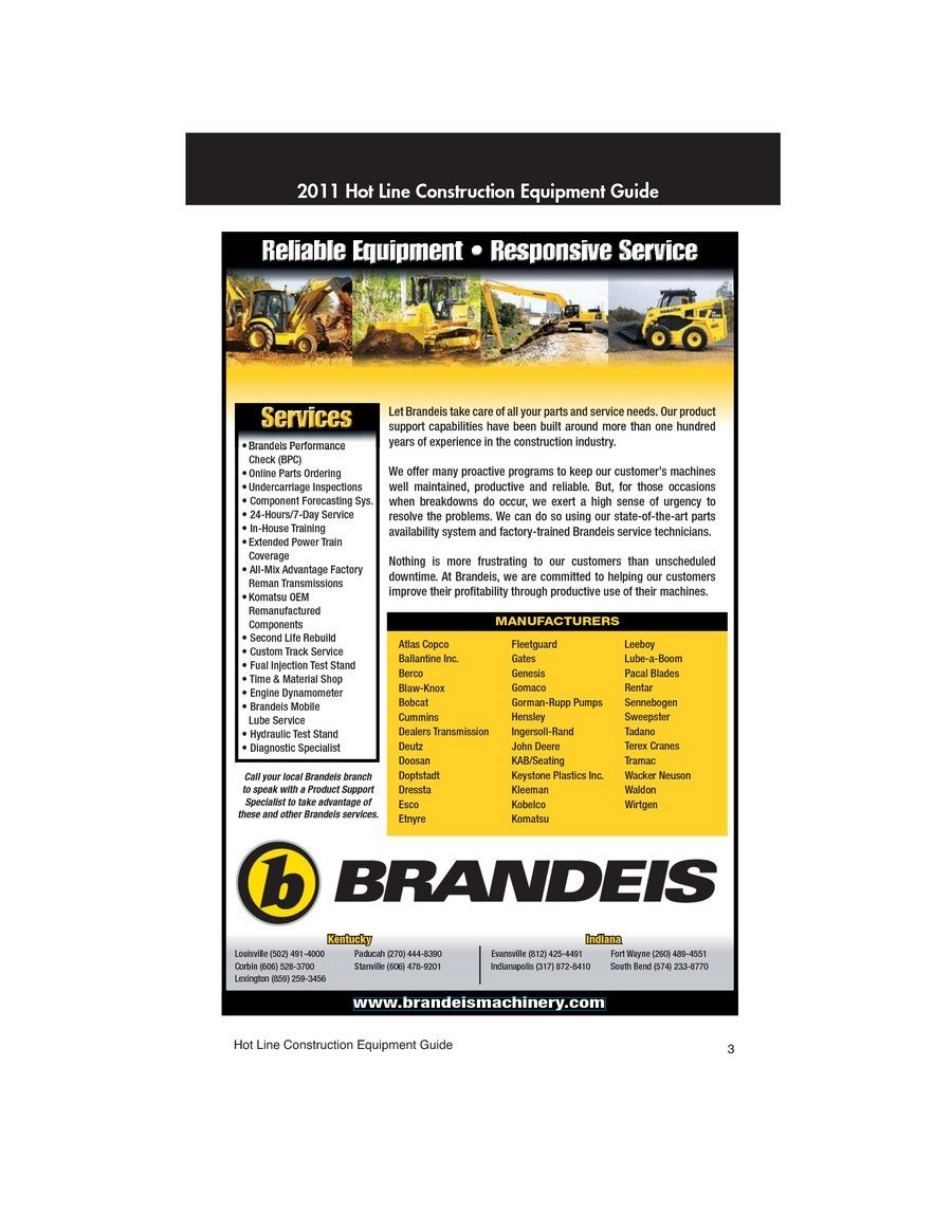 2011 Construction Equipment Guide Sample