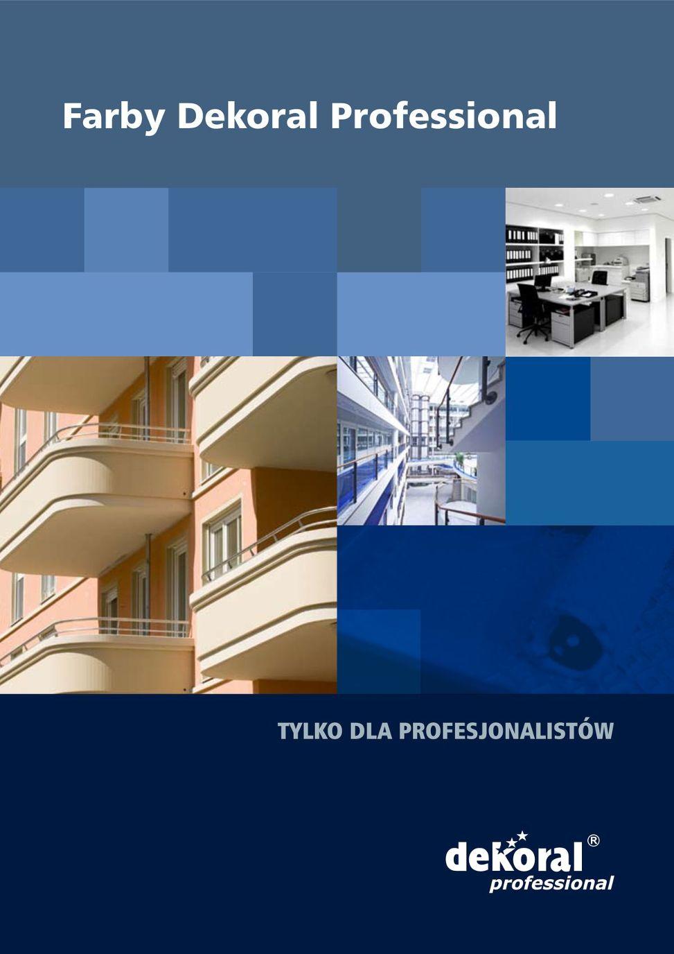 Dekoral Professional Katalog Produktów